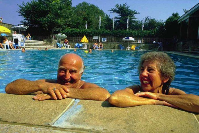 Пенсионеры в Испании