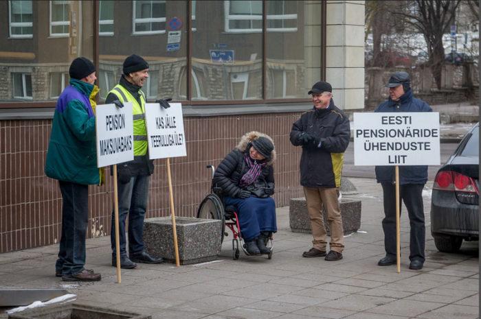Эстонские пенсионеры
