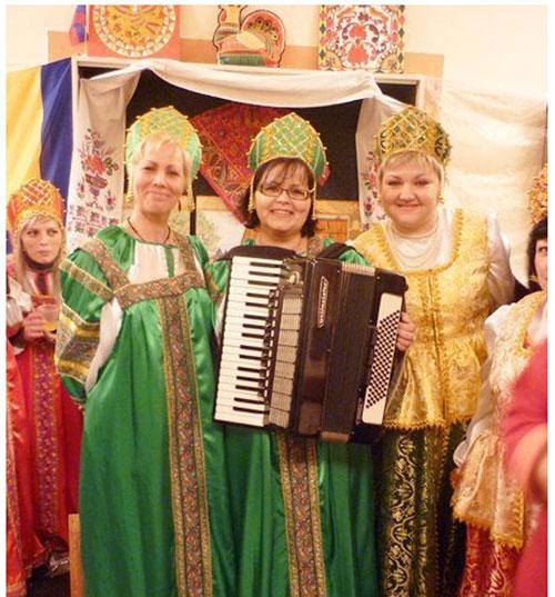Женщины русского общества Хорватии