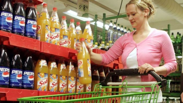 В норвежском супермаркете