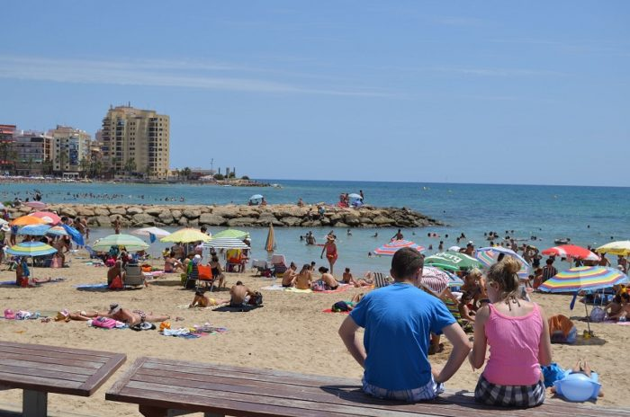 Российские туристы в Испании