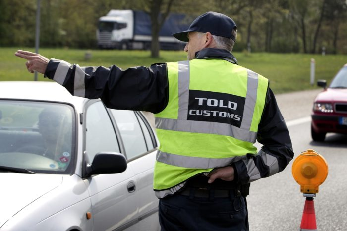 датский таможенник