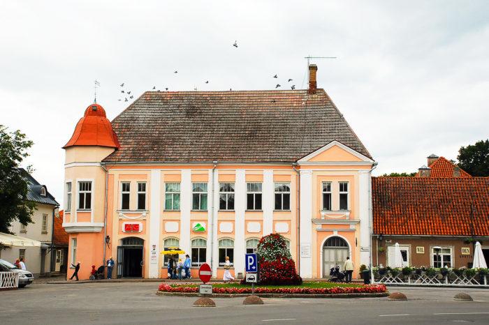 Архитектура в Курессааре