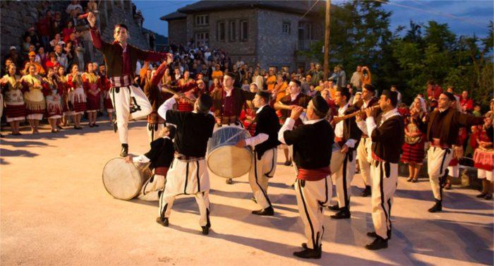 Праздник в Македонии