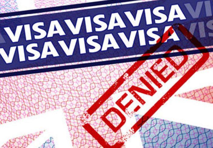 Отказ в получении визы