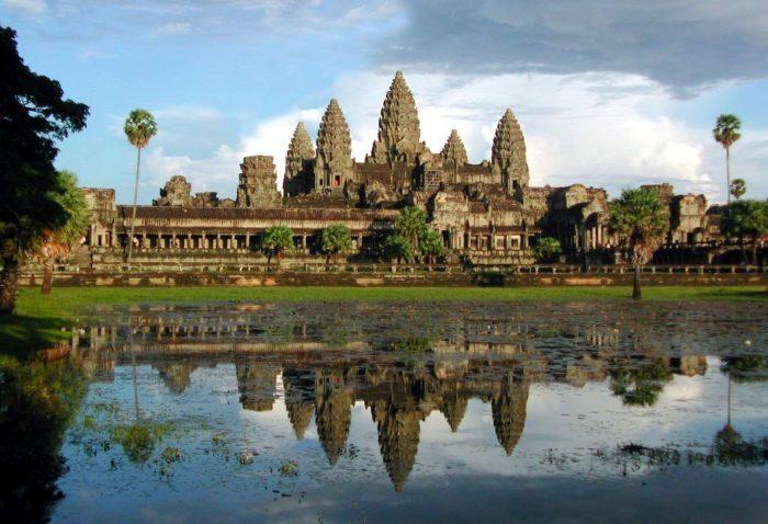Камбоджа, храмовый комплекс Ангкор-Ват