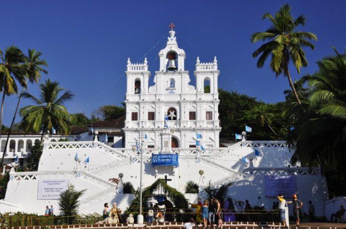 Панаджи, площадь Церкви