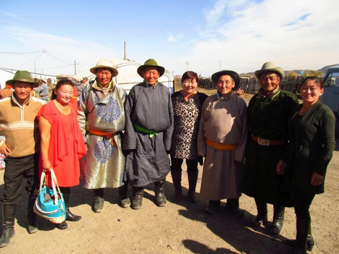 Монголы-кочевники