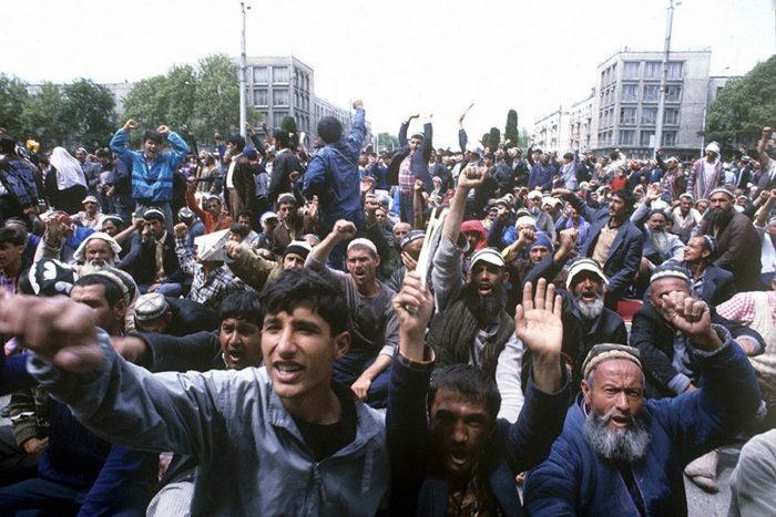 Митинг 1992 года в Таджикистане
