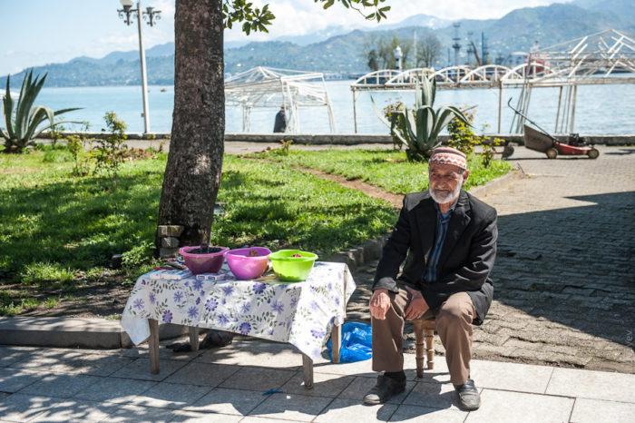 Грузинский пенсионер