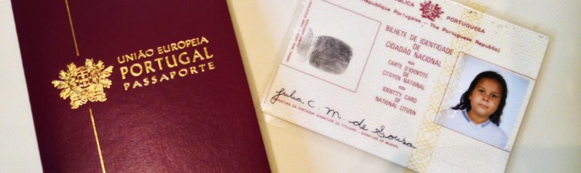 passaporte de Portugal