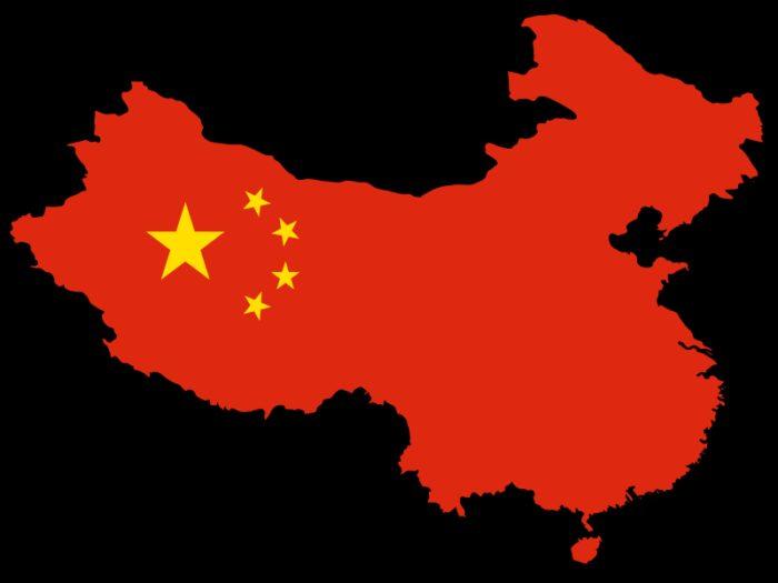 Карта Китая
