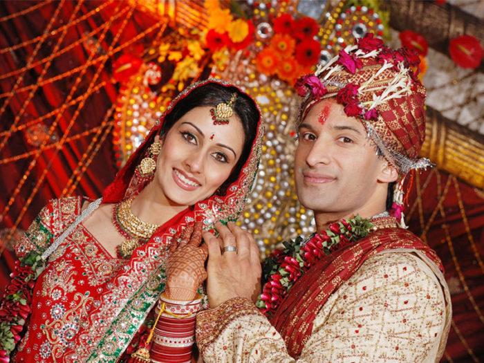 Брак в Индии