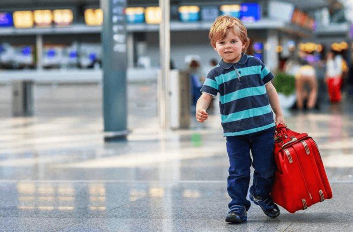 Ребёнок-путешественник