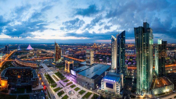 Столица Казахстана — Астана