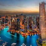 Небоскрёб в Дубаи