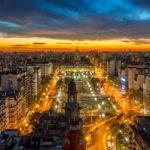 Ночной Буэнос Айрес