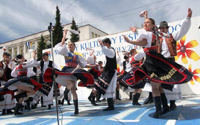 Национальные танцы в Словакии