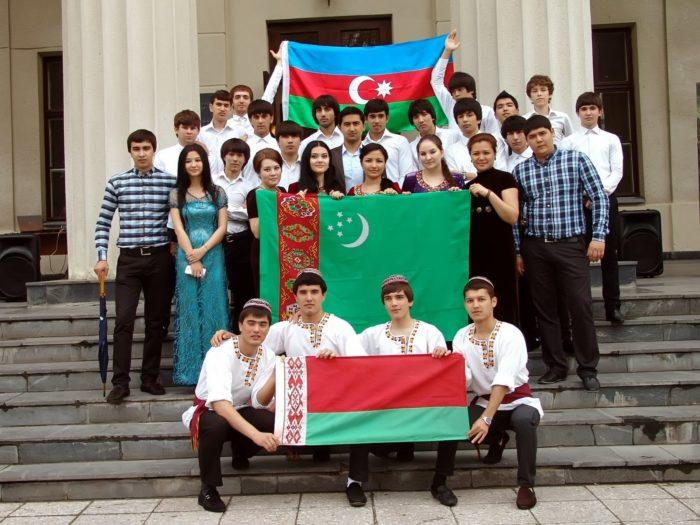 Туркменские студенты