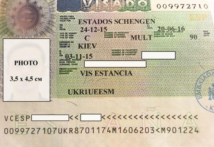 Шенгенская виза Испании