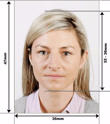 Формат фото на финскую визу