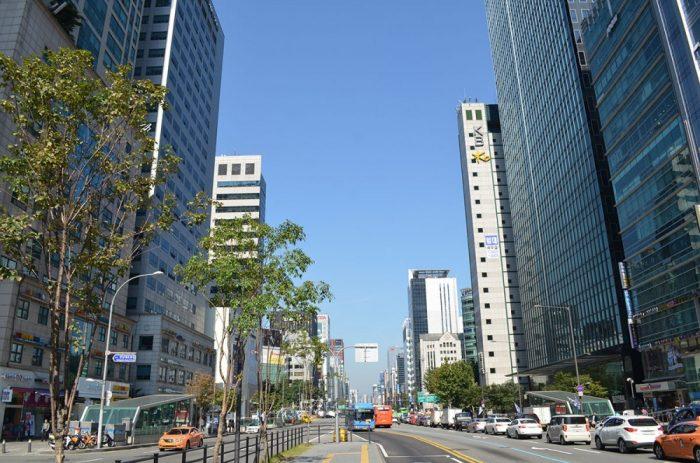 Небоскрёбы Сеула