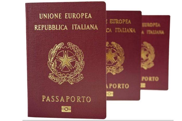 Паспорт гражданина Италии