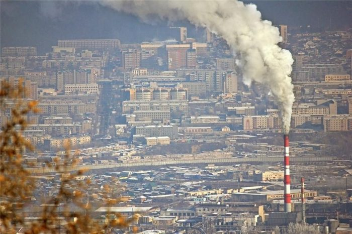 Выбросы над Читой