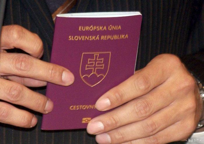 Паспорт гражданина Словакии