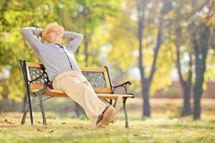 пенсионер в Израиле