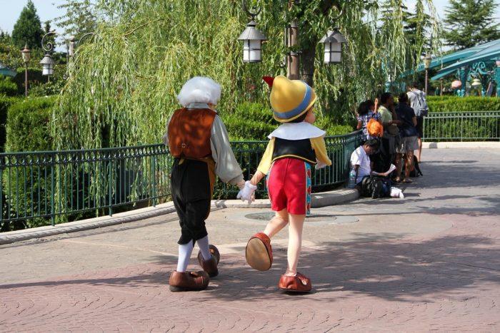 Пиноккио и его папа