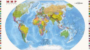 Угадай, какую страну мы закрасили на карте мира