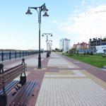 Городская набережная в Астрахани