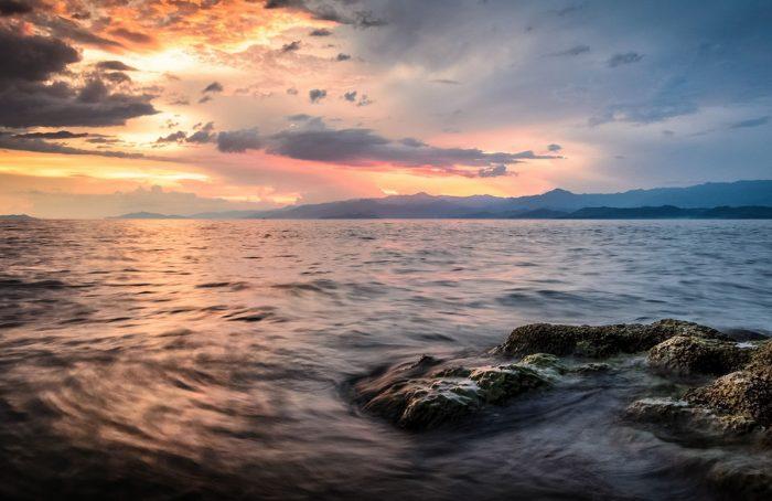 Экстрим на озере Киву