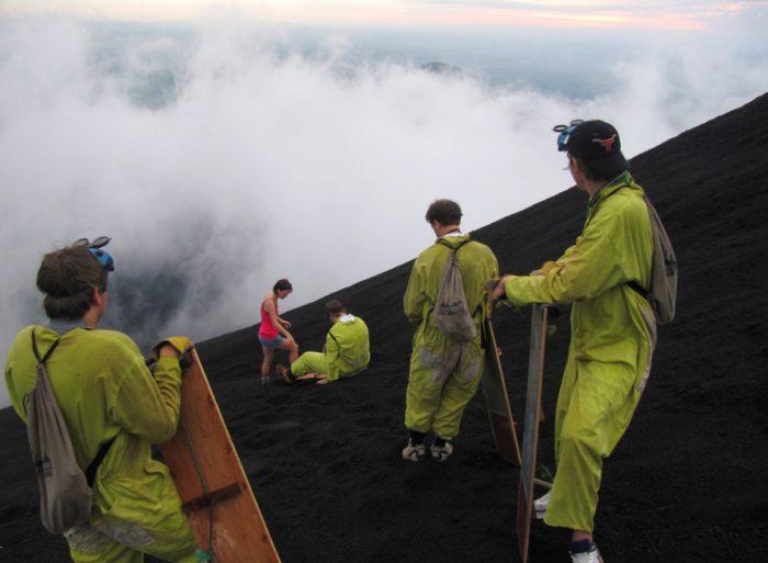 Страшное место − вулкан Никарагуа