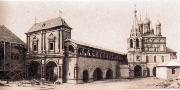 Старое изображение Крутицкого подворья