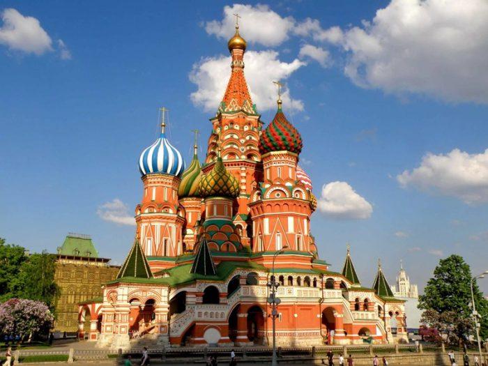 Храм Василия Блаженного в наши дни