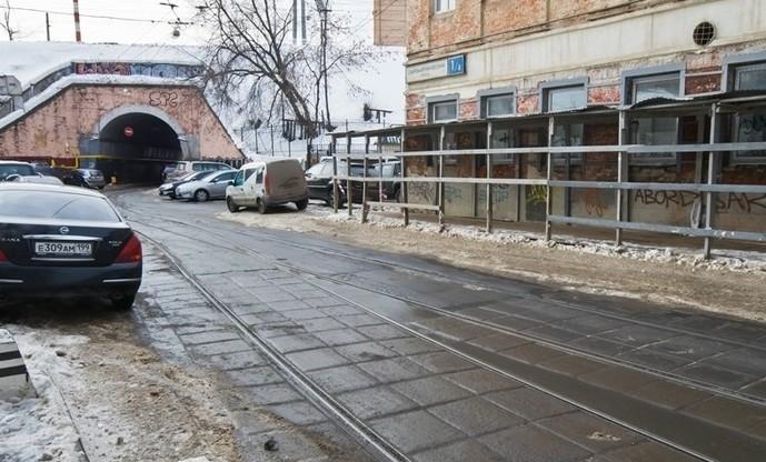 Современное фото Московского виадука на Сыромятниках
