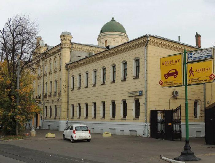 Здание Хлудовской богадельни в наши дни