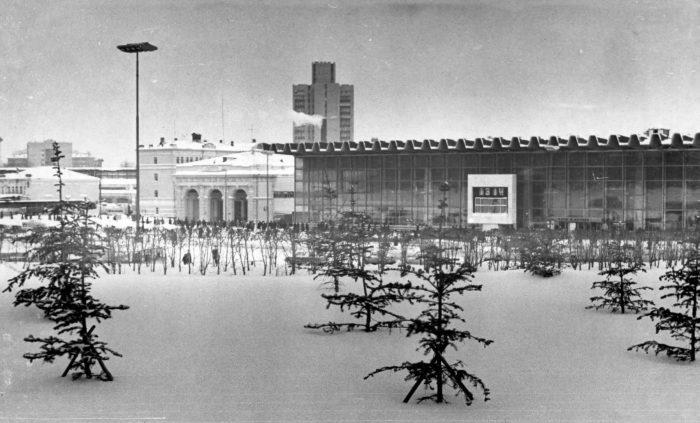 Курский вокзал в советское время