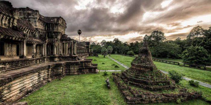 Древний город Ангкор-Ват