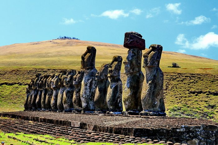 Платформы Аху острова Пасхи