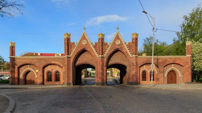 Бранденбургские ворота в Калиниграде