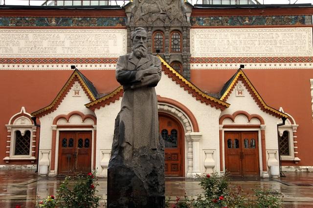 Памятник Третьякову