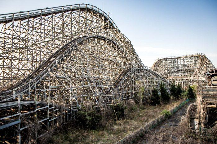 Всеми забытые «Американские горки» Nara Dreamland