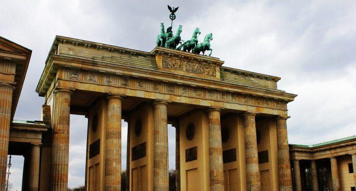 Лошади на Бранденбургских воротах