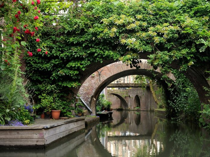 Канал в Утрехте