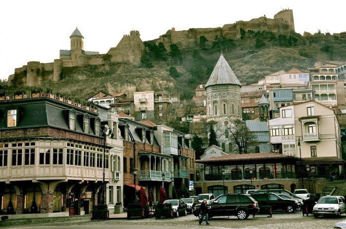 Рестораны и кафе старого Тбилиси