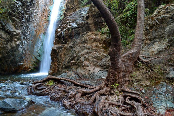 Водопад Милломерис