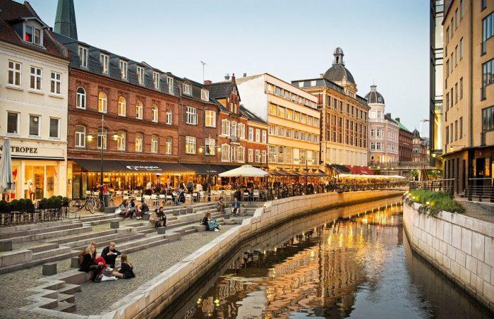 Старый город в Орхусе
